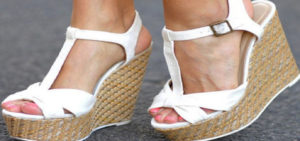Wide Wedge Sandals