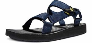 Atika Men's Outdoor - Trail Sandal for Walking