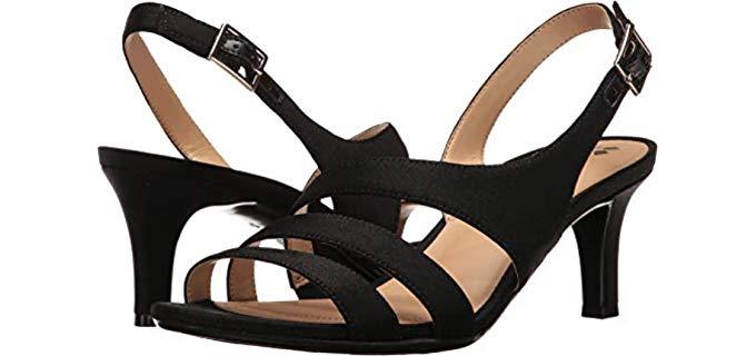 Naturalizer Women's Taimi - Dress Sandals for Narrow Feet