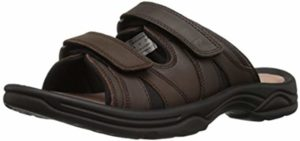 Propet Men's Vero Slide - Orthopedic Sandals for Arthritic Feet