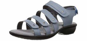 Propet Women's Aurora - Dress Sandals for Achilles Tendonitis