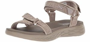 Skecers Sport Women's On The Go 600 - Sports Sandal for Neuropathy