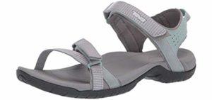 Teva Women's Verra - Arch Support Sandal for Back Pain
