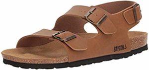 Bayton Men's Achille - Dress Sandals with a Cork Footbed