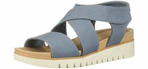 Dr. Scholls Women's Get It - Flat Feet and Plantar Fasciitis Dress Sandals