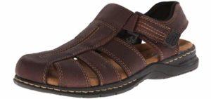 Dr. Scholls Men's Gaston - Flat Feet and Plantar Fasciitis Dress Sandals