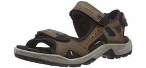 ECCO Men's Yucatan - Outdoor Sandals for Supination
