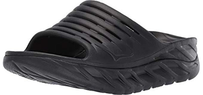 Hoka One Women's Ora - Rocker Bottom Slide Sandal
