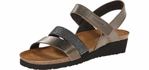 NAOT Women's Krista - Sandals with a Cork Footbed