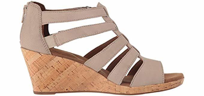 Wide Wedge Sandal