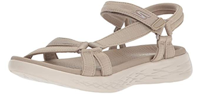 Skechers Women's On The Go 600 - Sports and Golf Sandal