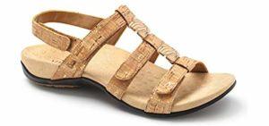 Vionic Women's Amber - Dress Sandals for Flat Feet