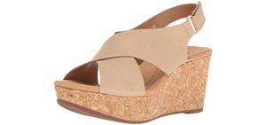 Clarks Women's Annadel - Dress Sandals with a Cork Footbed
