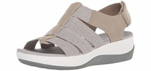 Arla Women's Shaylie - Sandal for Arthritic Feet