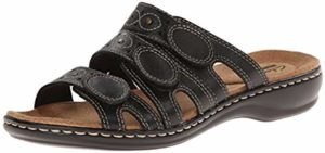Clarks Women's Leisa Cacti - Sandal for Arthritic Feet
