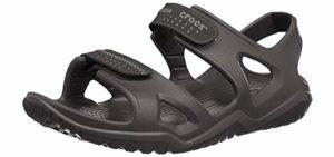 Crocs Men's SwiftWater - Comfort Sandal for the Elderly
