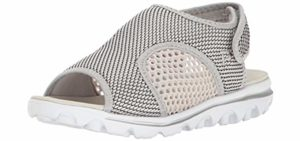 Propet Women's TravelActiv - Sandal for Arthritic Feet