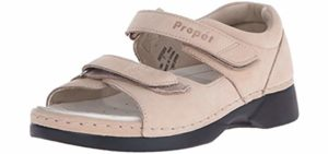 Propet Women's Pedic Walker - Orthopedic Sandals for Arthritic Feet
