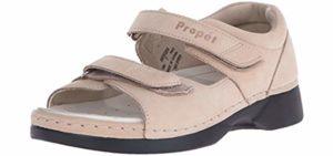 Propet Women's Pedic Walker - Orthopedic Sandal for Seniors