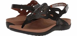 Rockport Women's Ridge - Sandal for A Higher Arch TYpe