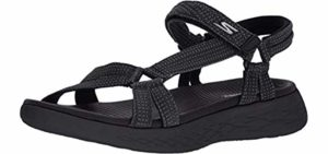 Skechers Women's One The Go 600 - Sports Sandals for Heel Spurs