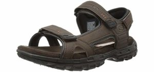 Skechers Men's Louden - Memory Foam Traveling Sandals
