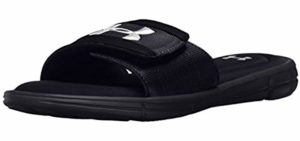 Under Armour Men's Ignite -  Slide Sandal For Traveling