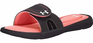 Under Armour Women's Ignite -  Slide Sandal For Traveling