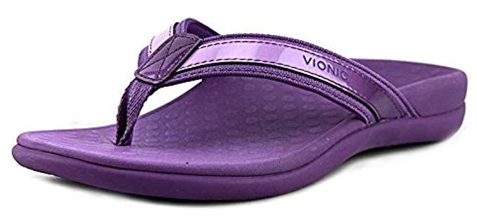 Vionic Women's Tide 2 - Orthopedic Bunion Flip Flop Sandal