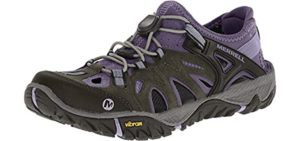 Merrell Women's All Out Blaze Sieve Sport - Sandal for Snorkeling