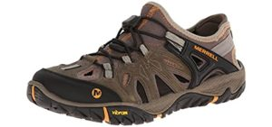 Merrell Men's All Out Blaze Sieve Sport - Sandal for Snorkeling