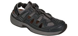 Orthofeet Men's Alpine - Metatarsalgia Sandal