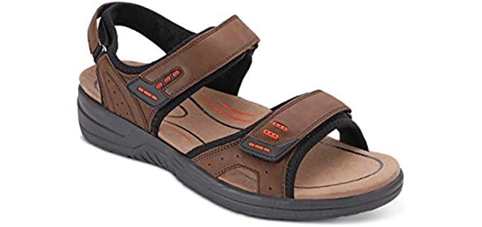 Orthofeet Men's Cambria - Plantar Fasciitis sandals
