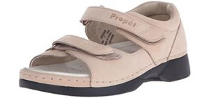 Propet Women's Pedic Walker - Sandal for Metatarsalgia