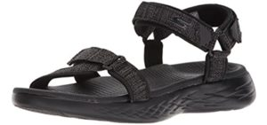 Skechers Men's On The Go 600 Sport - Sandal for Running with Knee Pain
