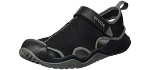 Crocs Men's Swiftwater - Closed Sandals for Snorkeling