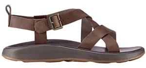 Chaco Men's Wayfarer - Leather sesamoiditis Sandals
