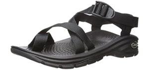 Chaco Men's ZVolve 2 - Lightweight Plantar Fasciitis Sandal