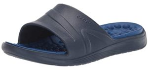 Crocs Men's Reviva - Slide Comfort Sandal for