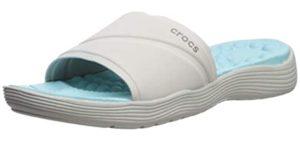 Crocs Women's Reviva - Slide Comfort Sandal for