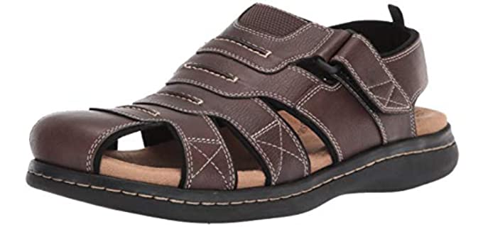 Dockers Men's Searose - Closed Toe Fisherman's Sandals with an Ankle Strap