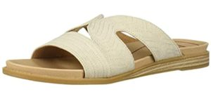 Dr. Scholls Women's Kourtney - Orthopedic Slide Sandal