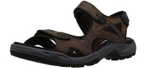 ECCO Men's Yucatan - Sandals for Hiking and Trail Walking