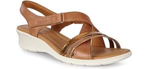 ECCO Women's Felicia Wedge - Dress Sandal