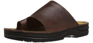 Naot Men's Mt. Louis - Slide Sandals with a Toe Loop