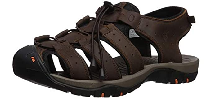 Propet Men's Kona - Ankle Strap Closed Toe Sandal