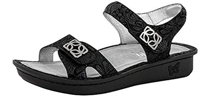 Alegria Women's Vienna Loafer - Mini Rocker Bottom Sandals