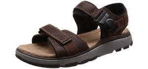 Clarks Men's Slingback - Neuropathy Comfort Sandals