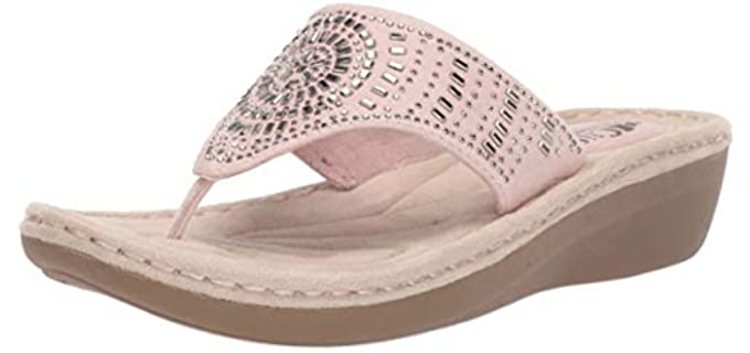 White Mountain Women's Cliffs - Casual Comfort Sandals