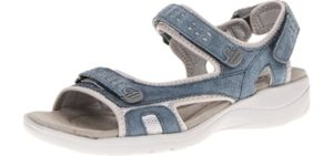 Clarks Women's Morse Tour - Neuropathy Comfort Sandals
